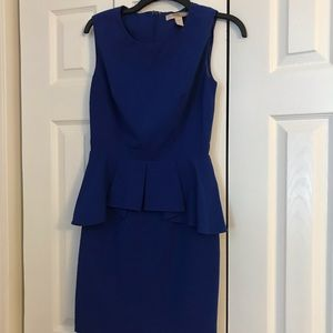Formal royal blue dress